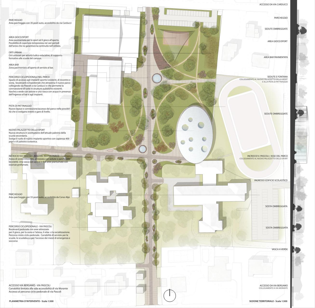 1 Wisp-Architects-Bellusco Sport Center -Plan