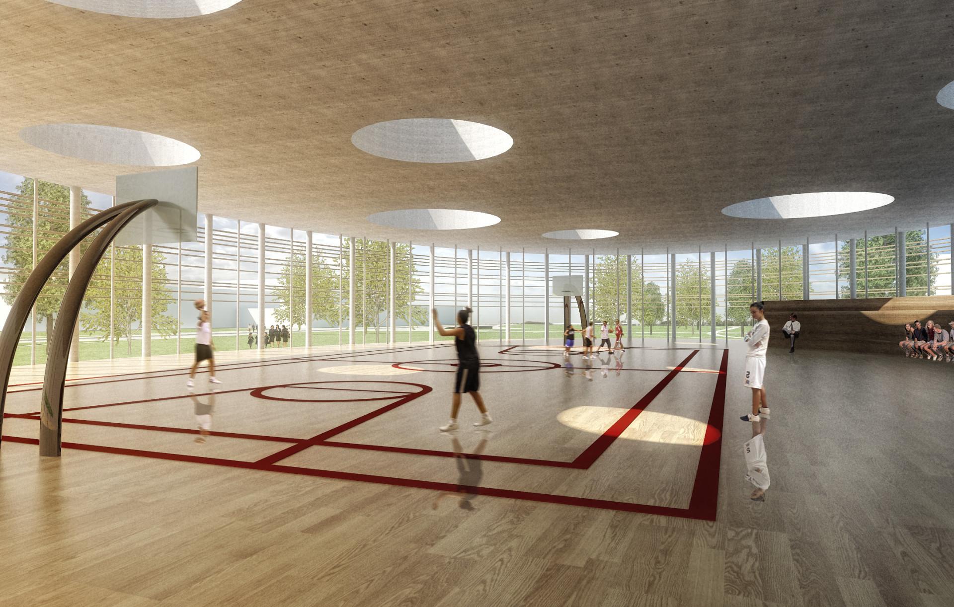 2 Wisp-Architects-Bellusco Sport Center -Render