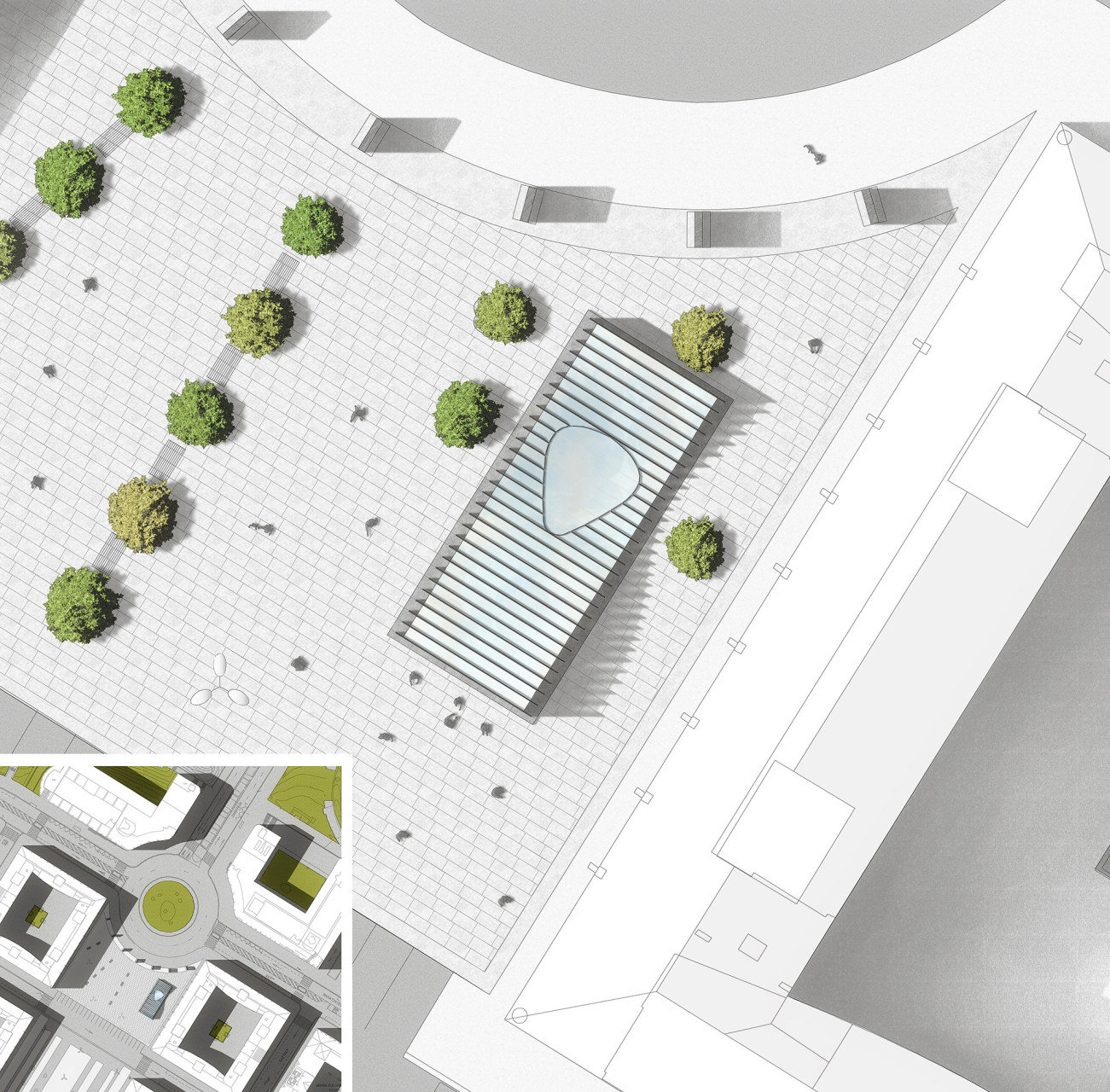 1 Wisp-Architects-Metro Station Donosti-Plan