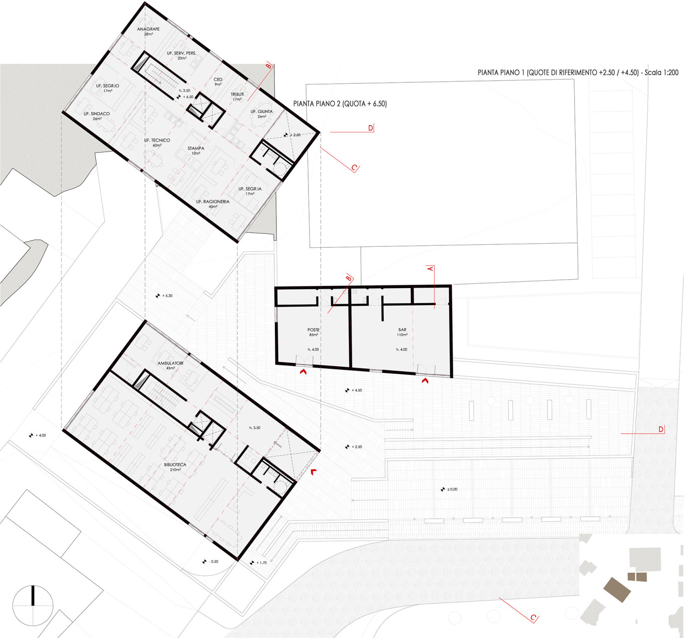 2 Wisp-Architects-Comune Cenate Sopra-Plans