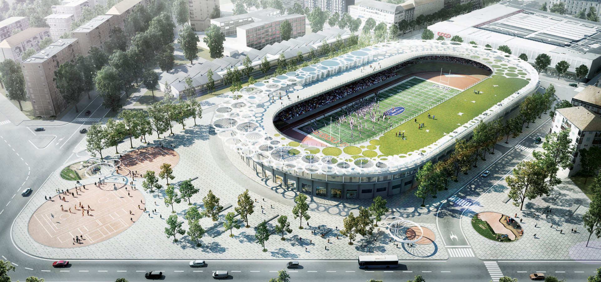 1 Wisp-Architects-Vigorelli Velodrome-Render