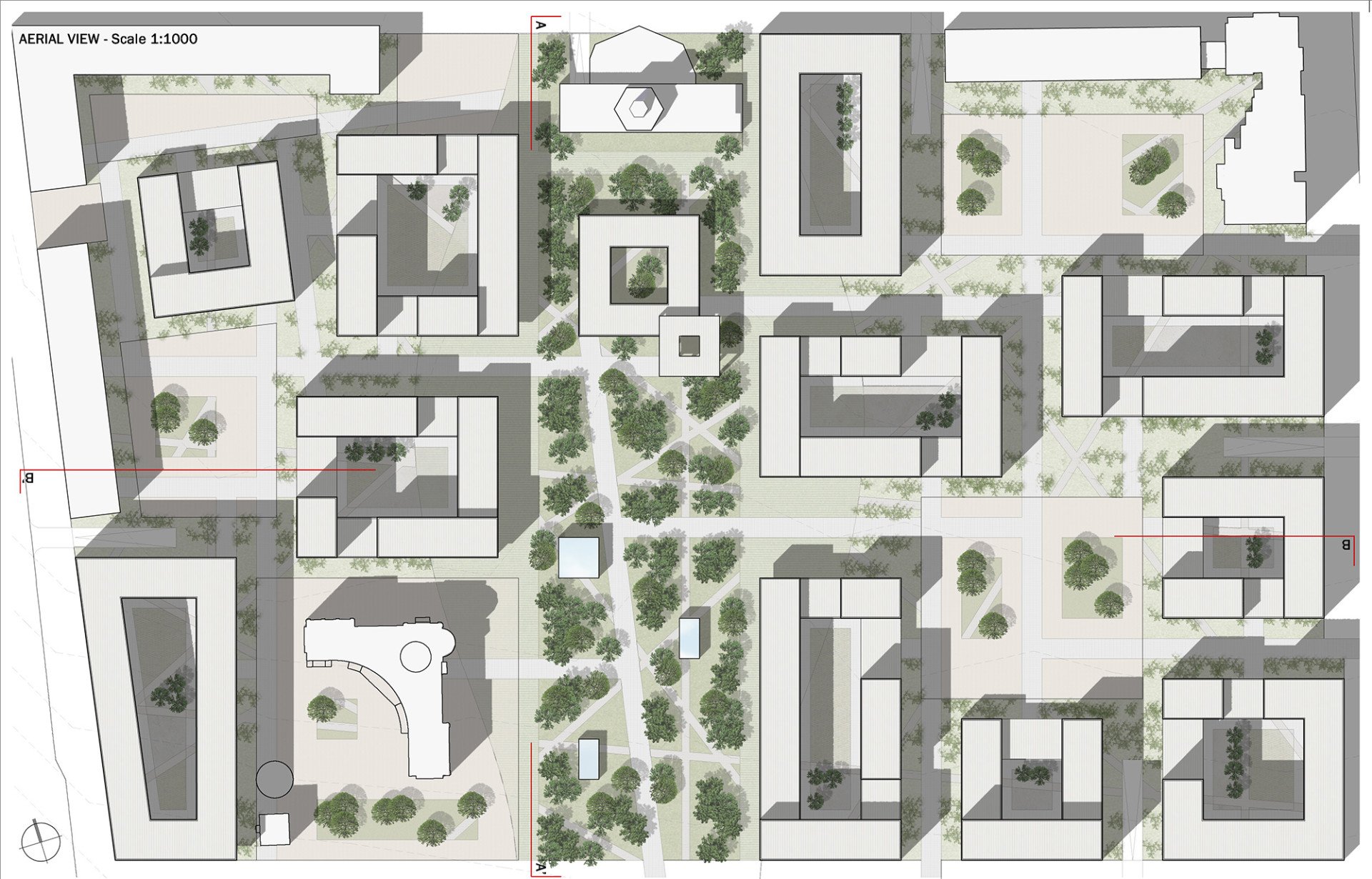 1 Wisp-Architects-Urban Block Russia-Plan