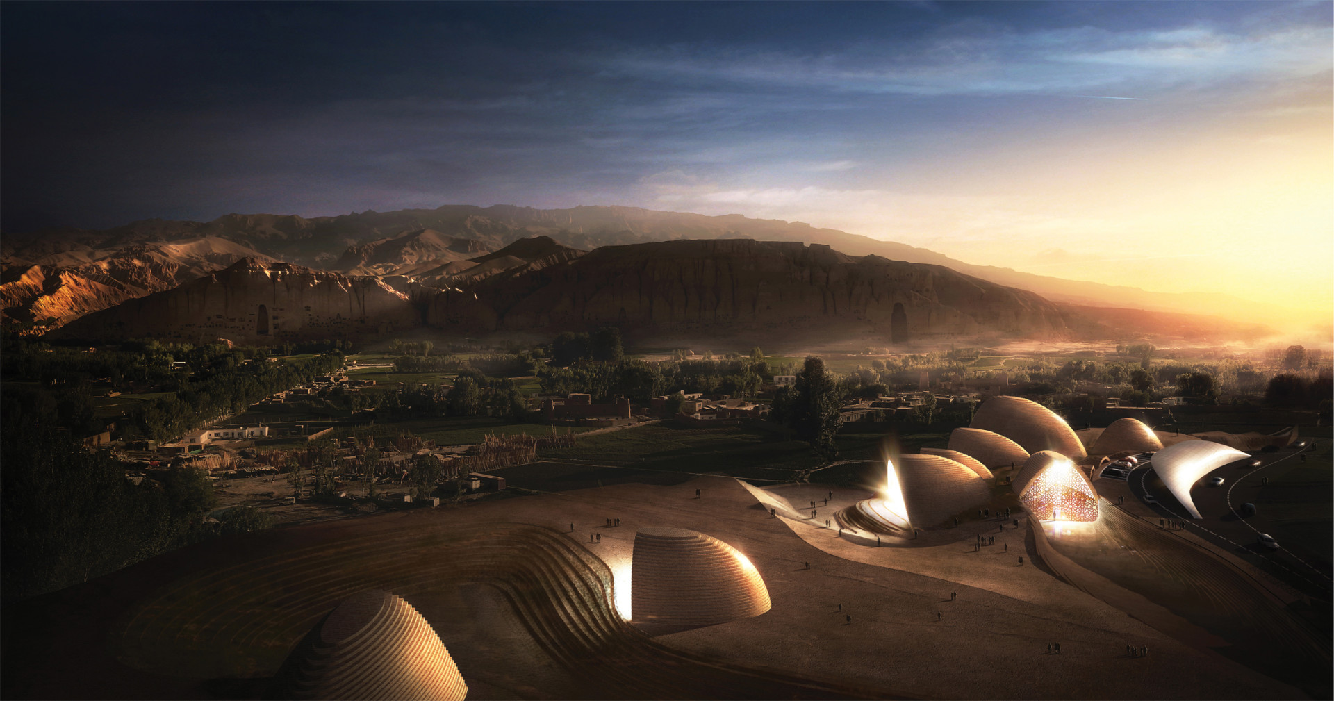 Wisp-Architects-Bamiyan-Cultural-Center-Competition-Render 2