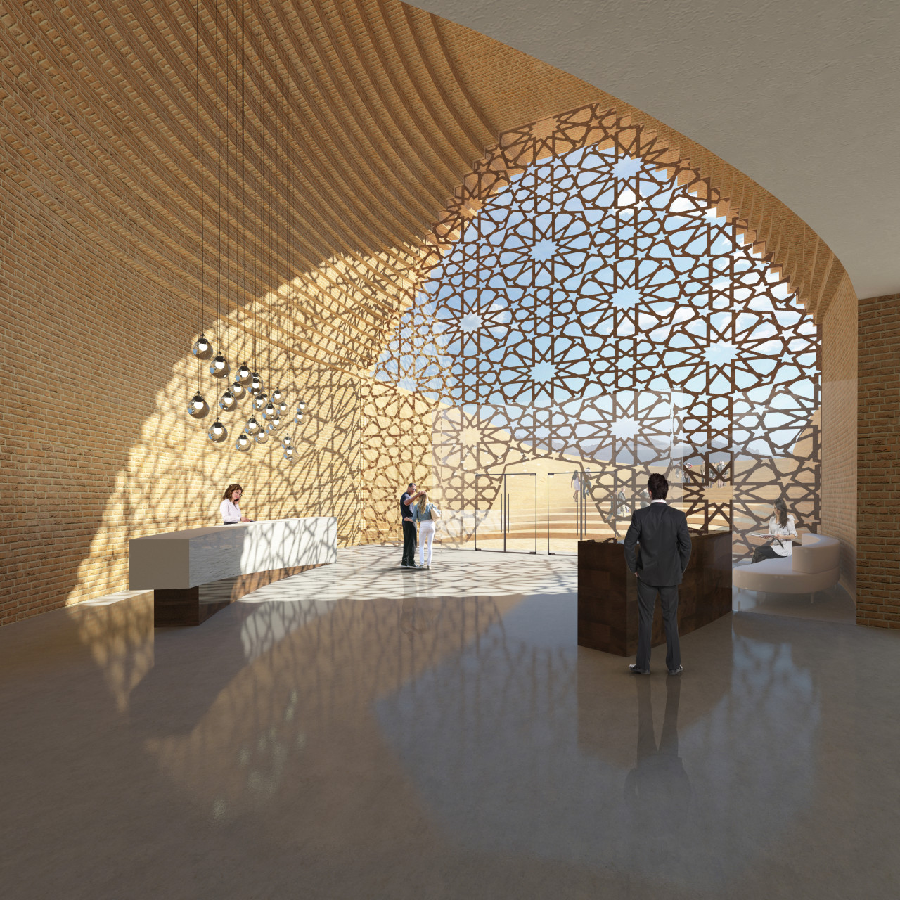 Wisp-Architects-Bamiyan-Cultural-Center-Competition-Render 3