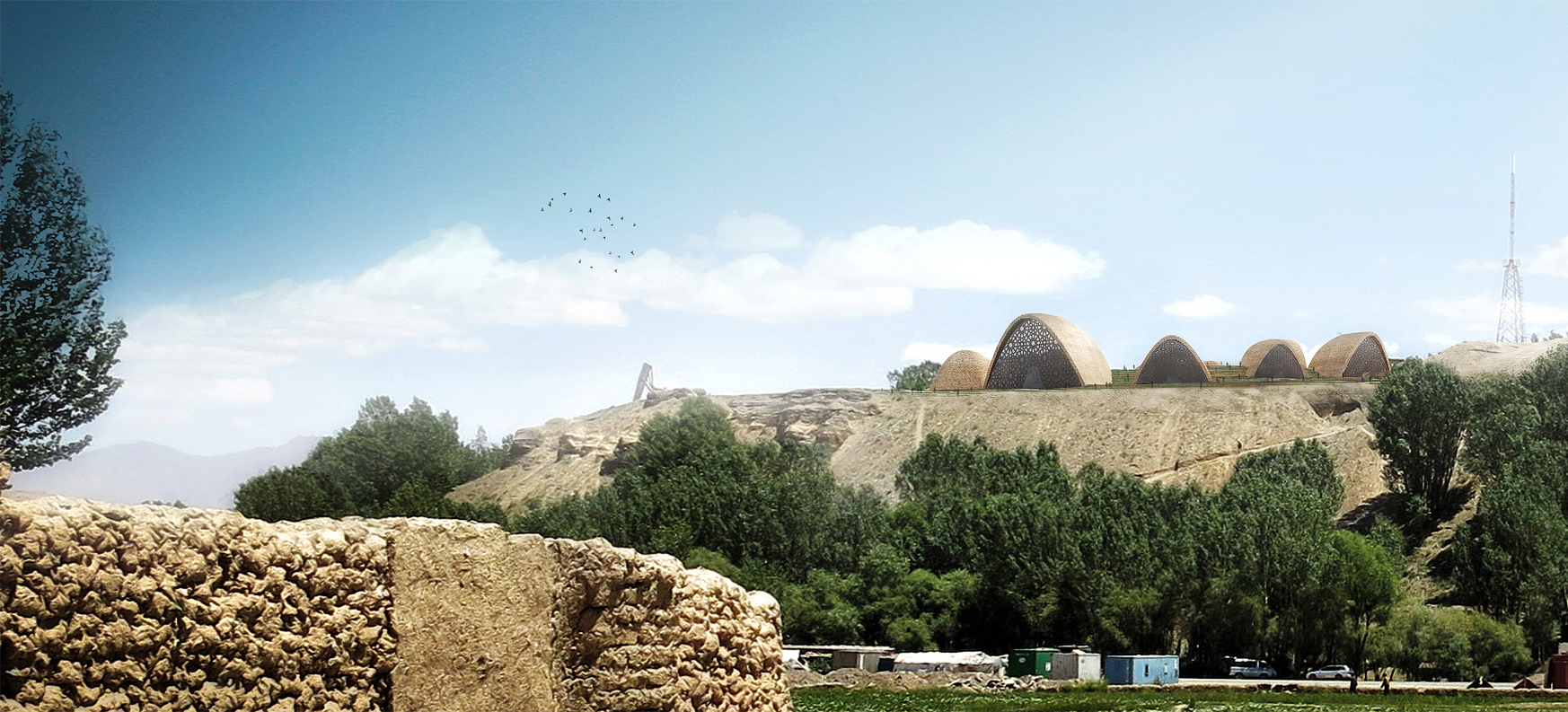 Wisp-Architects-Bamiyan-Cultural-Center-Competition-Render 6